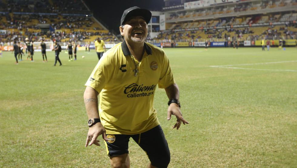 Maradona regresa pronto a Dorados de07ebc72df51